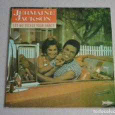 Discos de vinilo: JERMAINE JACKSON - LET ME TICKLE YOUR FANCY. Lote 263020140