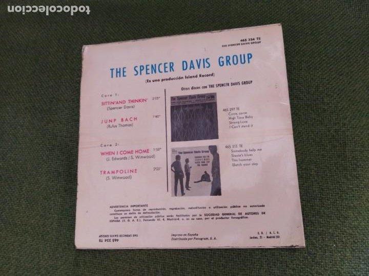 Discos de vinilo: THE SPENCER DAVIS GROUP 7´EP WHEN I COME HOME (1966) spa - Foto 2 - 263022125