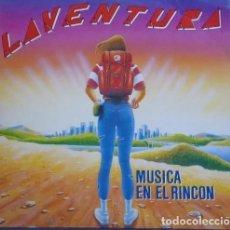 Discos de vinilo: LAVENTURA * LP VINILO * MÚSICA EN EL RINCON * 1991. Lote 263032600
