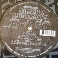 Discos de vinilo: BODZIN & HUNTEMANN - BLACK EP - 2006. Lote 263032770