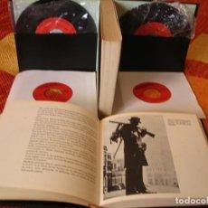 Discos de vinilo: LA SEGUNDA GUERRA MUNDIAL IMAGEN Y SONIDO SINGLE X 4 + 2 LIBROS COMPLETO ESPAÑA 1970. Lote 263033665