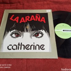 Discos de vinilo: CATHERINE - LA ARAÑA MAXI RARO 1985. Lote 263034225