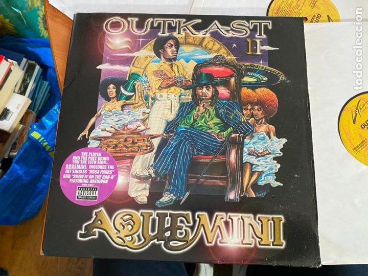 Discos de vinilo: OUTKAST (AQUEMINI) 3 x LP 1998 73008-26053-1 (B-29) - Foto 3 - 263036015