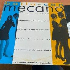 Discos de vinilo: MECANO (BAILA CON MECANO) MAXI ESPAÑA PROMO 1986 (B-29). Lote 263037130