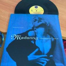 Discos de vinilo: MADONNA (RESCUE ME ) MAXI (B-29). Lote 263040410