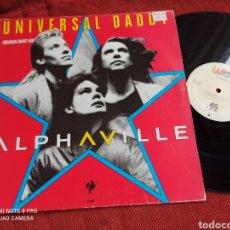 Discos de vinilo: ALPHAVILLE - UNIVERSAL DADDY MAXI. Lote 263042625