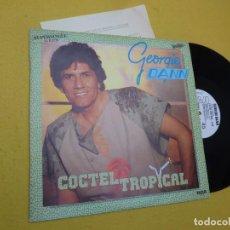 """Discos de vinilo: 12"""" GEORGIE DANN - COCTEL TROPICAL - SPAIN PRESS - PROMO – PC-7818 (EX/VG++) 4. Lote 263044330"""