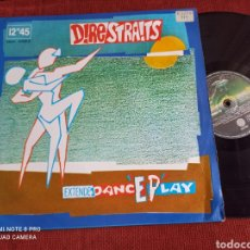 Discos de vinilo: DIRE STRAITS - TWISTING BY THE POOL ESPAÑOL. Lote 263046740
