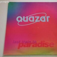 "Discos de vinilo: QUAZAR - LAST TRAIN TO PARADISE (12""). Lote 263052040"