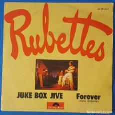Discos de vinilo: SINGLE / RUBETTES - JUKE BOX JIVE, 1974. Lote 263053540