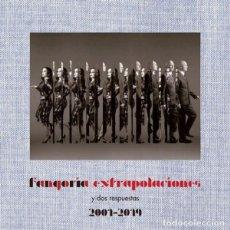 Discos de vinilo: FANGORIA - EXTRAPOLACIONES Y DOS RESPUESTAS ....2 LP´S - CON LINBRETO - NUEVO 2001-2019. Lote 263055960