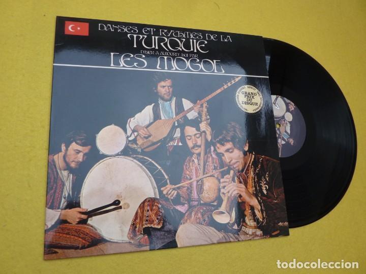 LP LES MOGOL – DANSES ET RYTHMES DE LA TURQUIE D'HIER À AUJOURD'HUI - DAMLA 005 (M/M) (Música - Discos - LP Vinilo - Étnicas y Músicas del Mundo)