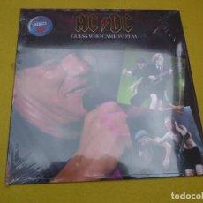 Discos de vinilo: LP AC/DC – GUESS WHO CAME TO PLAY - EU PRESS - LIVE CIRCUS KRONE - GERMANY (PRECINTADO). Lote 263058580