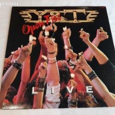 Discos de vinilo: Y & T -OPEN FIRE- (1985) LP DISCO VINILO. Lote 263059235