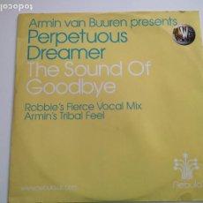 "Discos de vinilo: ARMIN VAN BUUREN PRESENTS PERPETUOUS DREAMER - THE SOUND OF GOODBYE (12""). Lote 263059930"