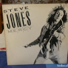 Discos de vinilo: LP STEVE JONES, EX SEX PISTOLS? MERCY USA 1987 BUEN ESTDO GENERAL. Lote 263064990
