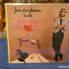 Discos de vinilo: LP JUAN LUIS GUERRA Y 4:40 BACHATA ROSA ESTADO GENERAL CORRECTO. Lote 263065200