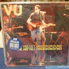 Discos de vinilo: LP LA MUSICA ROCK LOS INTERPRETES AÑOS 80 NUM 59: VELVET UNDERGROUND BUEN ESTADO. Lote 263065990
