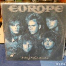 Discos de vinilo: LP EUROPE OF THIS WORLD PEQUEÑAS SEÑALES DE USO, LINEAS MUY MUY FINAS. Lote 263066080