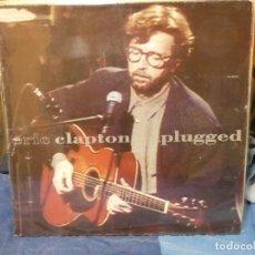 Discos de vinilo: LP ERIC CLAPTON UNPLUGGED TAPA CORRECTA VINILO MUY BUEN ESTADO 74. Lote 263066760