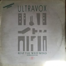 "Discos de vinilo: ULTRAVOX ""REAP THE WILD WIND"", MAXI SINGLE. Lote 263068420"