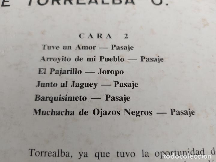 Discos de vinilo: MARIO SUAREZ CANTA A JUAN VICENTE TORREALBA / LP - VENE VOX / MBC. ***/*** - Foto 4 - 263070880