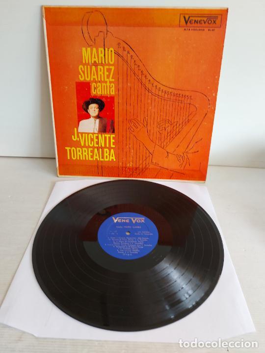 MARIO SUAREZ CANTA A JUAN VICENTE TORREALBA / LP - VENE VOX / MBC. ***/*** (Música - Discos - LP Vinilo - Grupos y Solistas de latinoamérica)