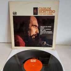 Discos de vinilo: CARLOS MONTERO Y SU GUITARRA / LP - GRAMUSIC-1977 / MBC. ***/***. Lote 263072550