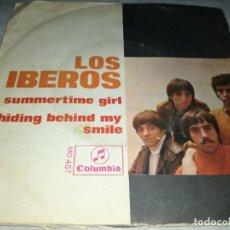 Discos de vinilo: LOS IBEROS-SUMMERTIME GIRL-ORIGINAL AÑO 1968. Lote 263075245