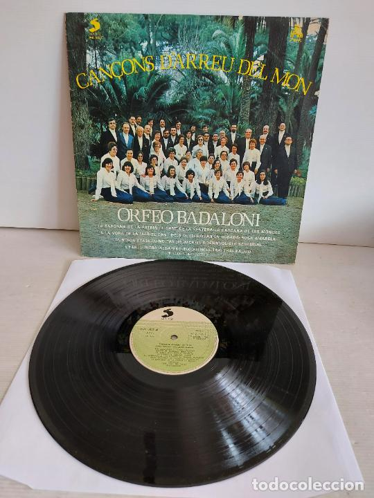 ORFEÓ BADALONÍ / CANÇONS D'ARREU DEL MÓN / LP - SELECTOR-1978 / MBC. ***/*** (Música - Discos - LP Vinilo - Grupos Españoles de los 70 y 80)