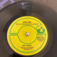 "Discos de vinilo: DEEP PURPLE - BLACK NIGHT / SPEED KING (HARVEST HAR-9315) (VINYL, 7"",SINGLE, MONO) (1970/AUSTRALIA). Lote 263076495"