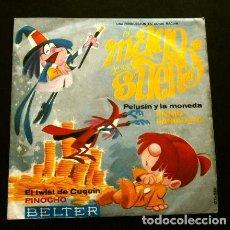 Discos de vinilo: EL MAGO DE LOS SUEÑOS (SINGLE 1965) ENNIO SANGIUSTO - BANDA SONORA DE LA PELICULA - PELUSIN Y CUQUIN. Lote 263076550