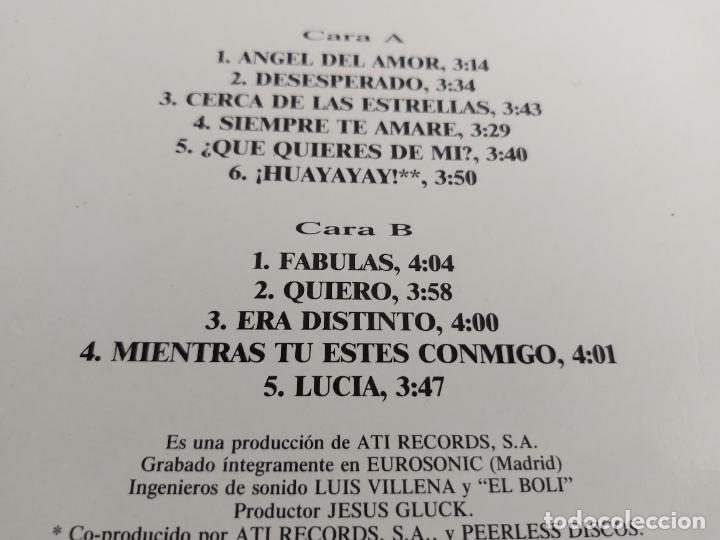 Discos de vinilo: PEDRO POMARES / ÁNGEL DEL AMOR / LP - ATI RECORDS-1989 / MBC. ***/*** - Foto 3 - 263077585