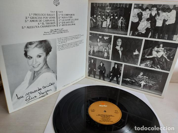 Discos de vinilo: LINA MORGAN EN SUS ÉXITOS DE LA MARINA TE LLAMA / LP-GATEFOLD - MARFER-1980 / MBC. ***/*** - Foto 2 - 263077900