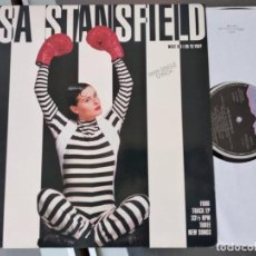 Discos de vinilo: LISA STANSFIELD-WHAT DID I DO TO YOU + MY APPLE HEART + LAY ME DOWN + SOMETHING´S HAPPENIN MAXI. Lote 263078725