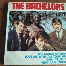 Discos de vinilo: THE BACHELORS - THE SOUND OF SILENCE + 3 ********** RARO EP ESPAÑOL 1966. Lote 263083870