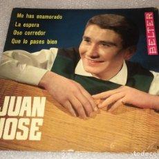 Discos de vinilo: EP JUAN JOSE - ME HAS ENAMORADO Y OTROS TEMAS - BELTER 51.639 -PEDIDO MINIMO 7€. Lote 263088020