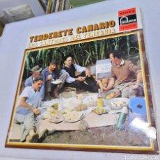 Discos de vinilo: TENDERETE CANARIO. LOS CANTORES DEL TENEGUIA. FONTANA. Lote 263100345