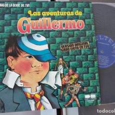 Discos de vinilo: REGALIZ - LAS AVENTURAS DE GUILLERMO LP BELTER 1980 - TVE TELEVISION. Lote 263102460