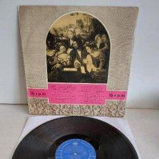 Discos de vinilo: 21 GRABACIONES EN 16 R.P.M. / LP - CLUB INTERNACIONAL DEL DISCO-1959 / MBC. ***/***. Lote 263107175