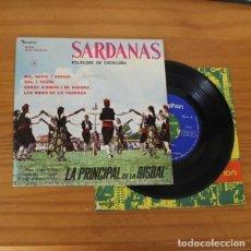 Discos de vinilo: LA PRINCIPAL DE LA BISBAL -EP VINILO 7''- PIC REPIC I REPICO, SAL I PEBRE, CANÇO D'AMOR I DE GUERRA. Lote 263108860