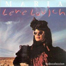 Discos de vinilo: LENE LOVICH – MARIA - SINGLE SPAIN 1982. Lote 263120165