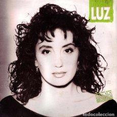 Discos de vinilo: LUZ CASAL , A CONTRALUZ, LP HISPAVOX 1991 + LETRAS. Lote 263121090