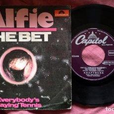 Discos de vinilo: ALFIE - THE BET - SINGLE 1980. Lote 263126550