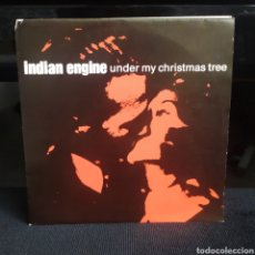 Discos de vinilo: INDIAN ENGINE - UNDER MY CHRISTMAS TREE DINAMARCA 1989. Lote 263127870