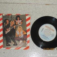 Discos de vinilo: MABEL - EXTRAÑOS - SINGLE - SPAIN - HISPAVOX - L -. Lote 263128350