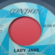 Discos de vinilo: THE ROLLING STONES.** MOTHER'S LITTLE HELPER * LADY JANE **. Lote 263129835