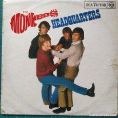 Discos de vinilo: THE MONKEES - HEADQUARTERS (LP, ALBUM, MONO) (RCA VICTOR) RD-7886 (1967/UK). Lote 263133690