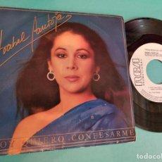 Discos de vinilo: ISABEL PANTOJA HOY QUIERO CONFESARME 1985 PROMO. Lote 263135925