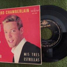 Discos de vinilo: RICHARD CHAMBERLAIN EP NO HAGO MAS QUE SOÑAR-MGM SPAIN 1961 ACTOR CINE. Lote 263136115